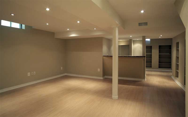 Highlander remodeling basement remodel for Basement flooring ideas pictures
